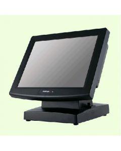 "Posiflex 17"" Touch Monitor USB Resistive Black"